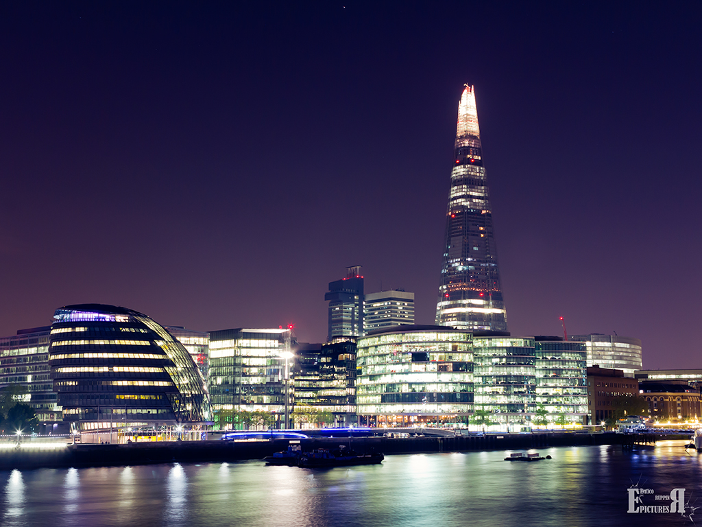 London - Skyline by Night